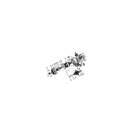 Chelsea 7A187 - Filler Block,6 Bolt Steel .187