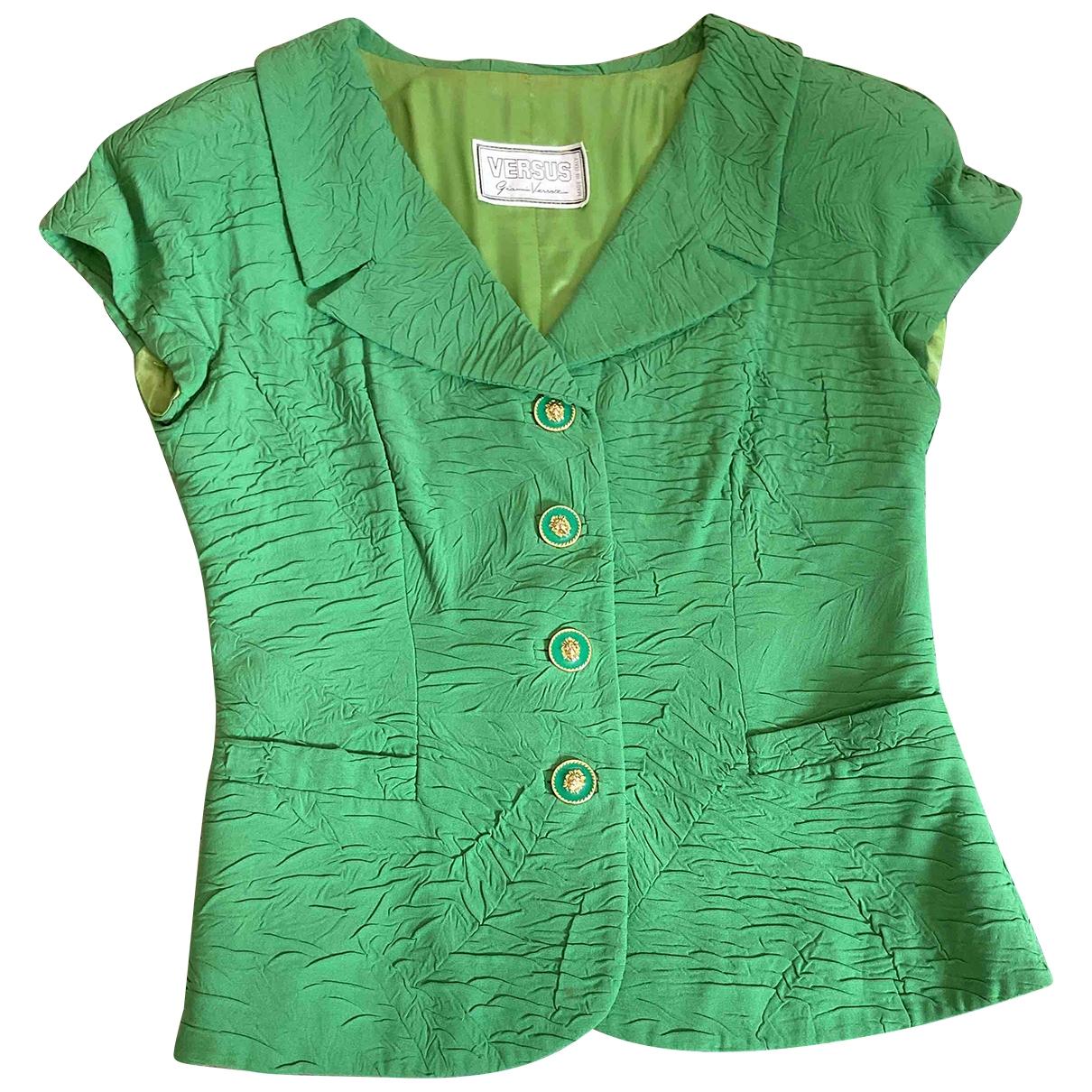 Versus - Veste   pour femme - vert