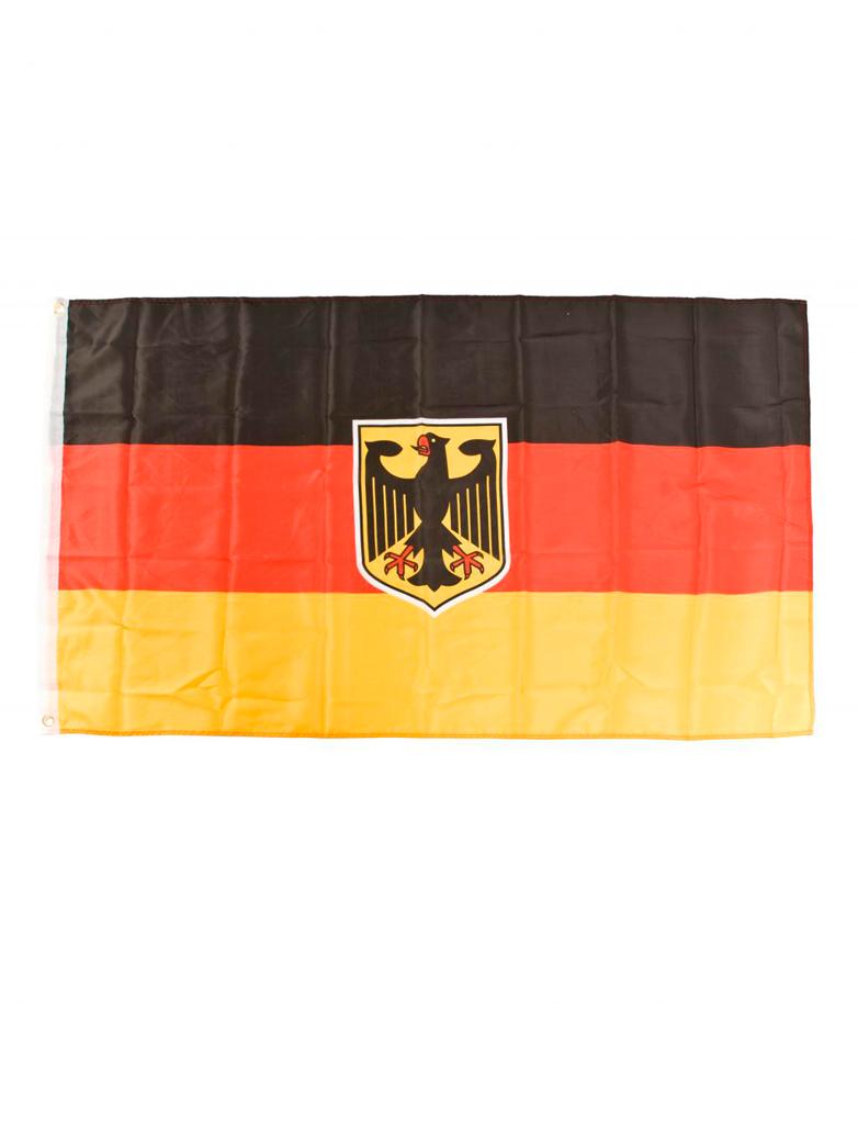 Flagge Deutschland mit Adler 150x90cm Farbe: schwarz/rot/gold