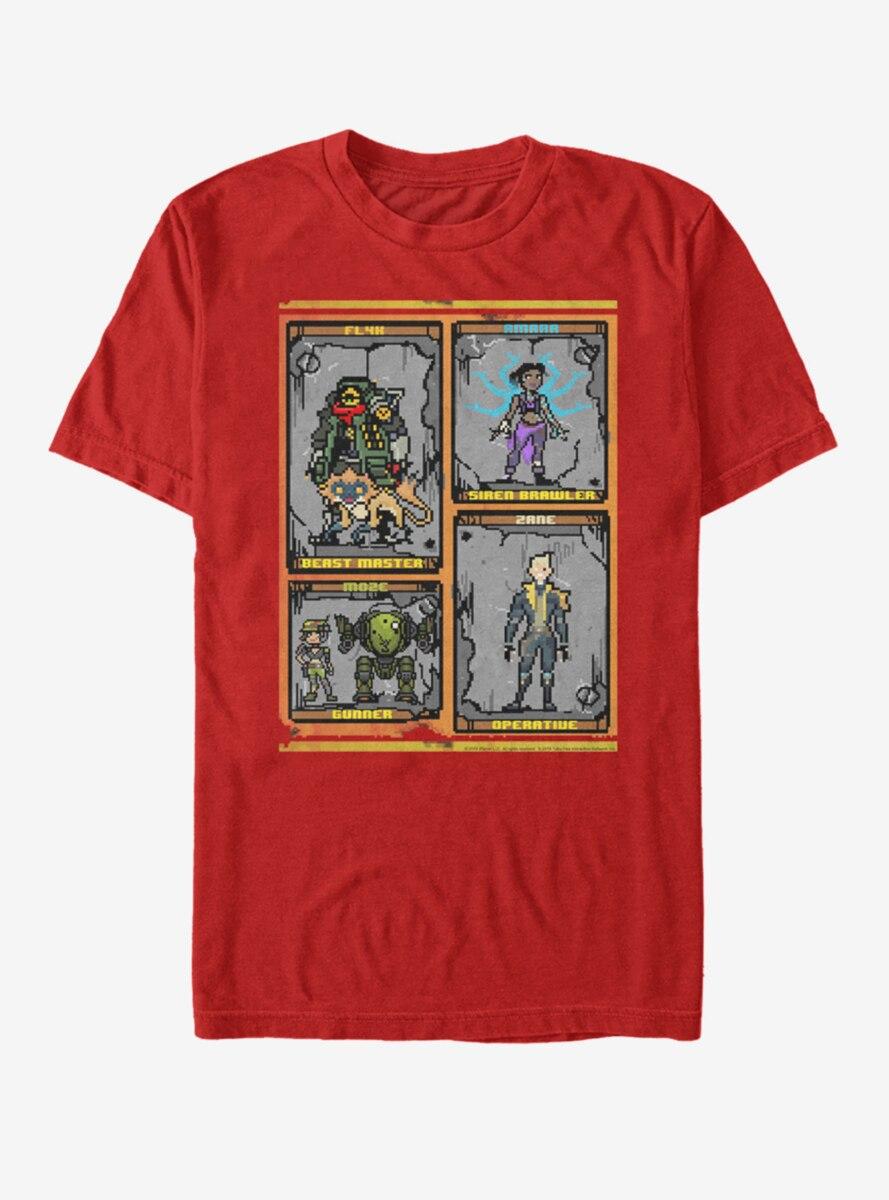 Borderlands 3 Pixel Vault Hunters T-Shirt