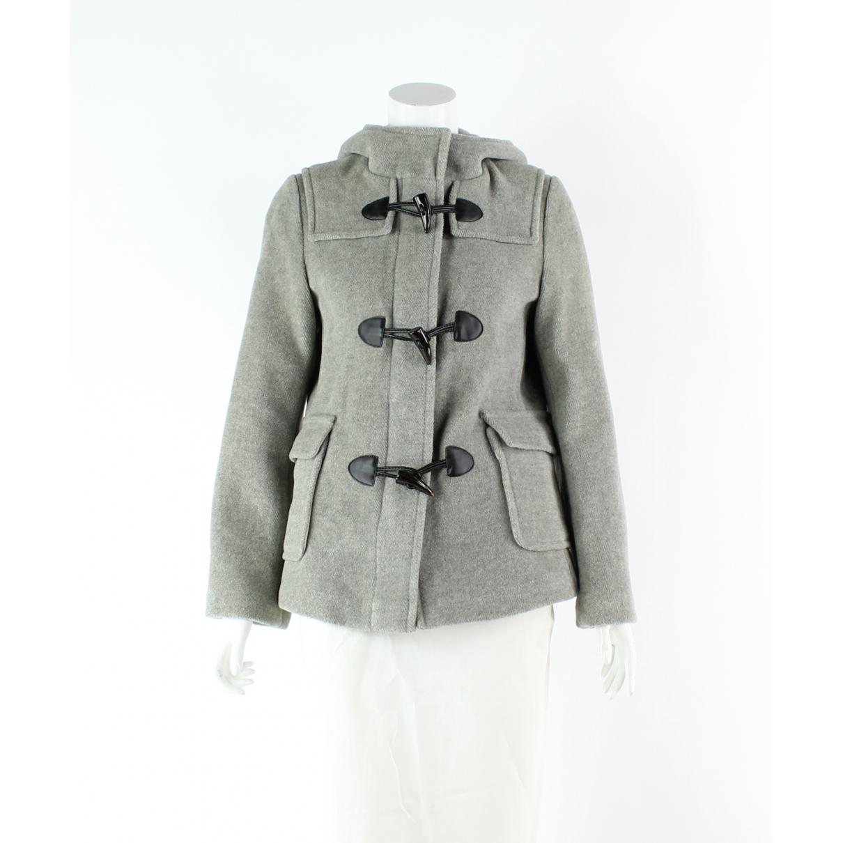 Burberry - Manteau   pour femme en laine - gris