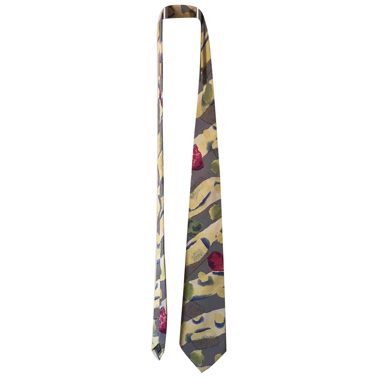 Giorgio Armani - Cravates   pour homme en soie - jaune