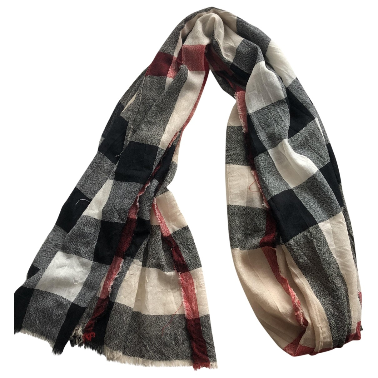 Burberry \N Beige Wool scarf for Women \N