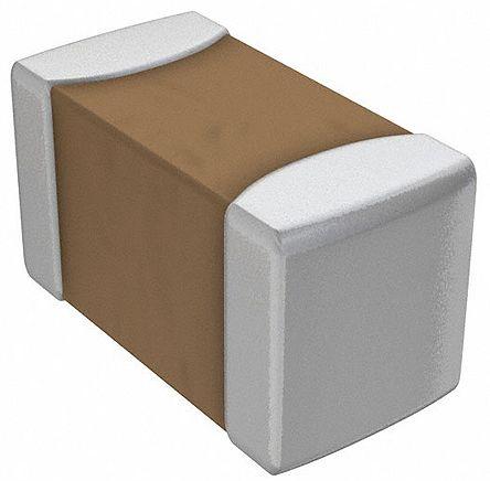 Murata , 0805 (2012M) 100pF Multilayer Ceramic Capacitor MLCC 250V dc ±5% , SMD GRM21A5C2E101JW01D (100)