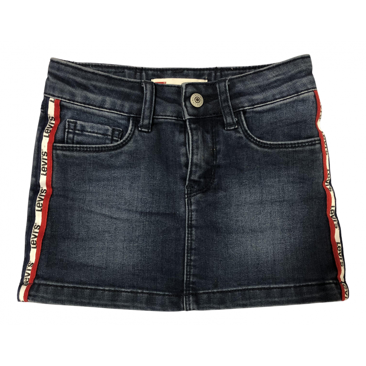 Levis N Navy Denim - Jeans skirt for Kids 6 years - until 45 inches UK