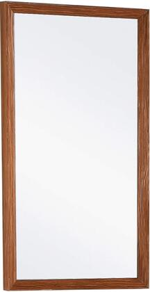 Urbania URM20TK 18 x 34 Mirror with Wooden Frame Construction and Smudge Resistant Finish in
