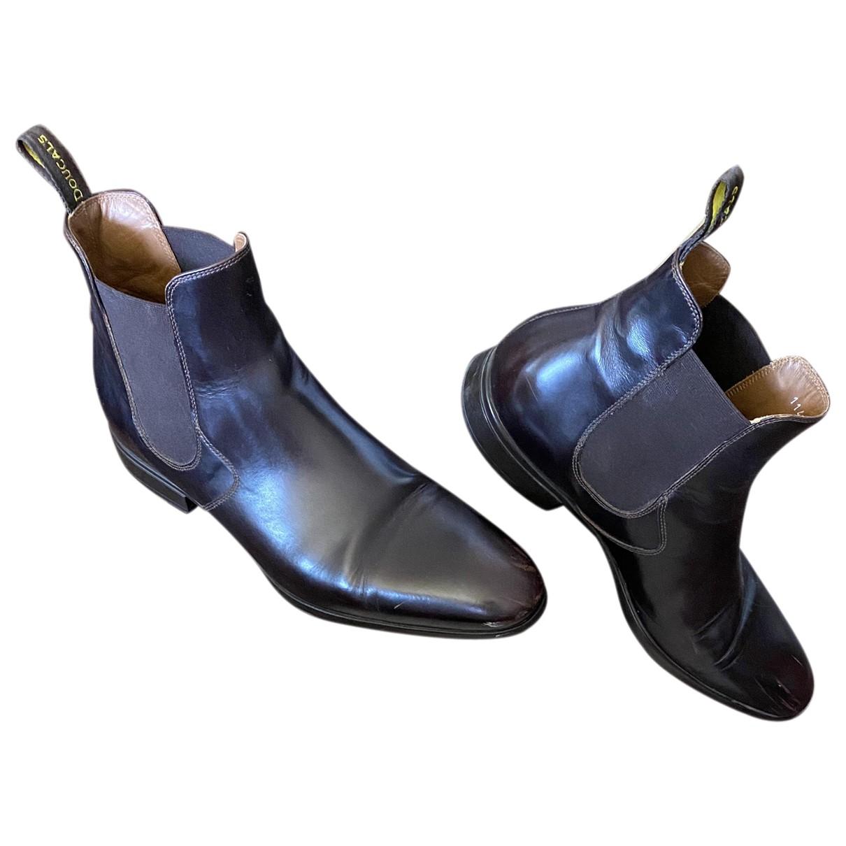 Doucals \N Stiefel in  Braun Leder