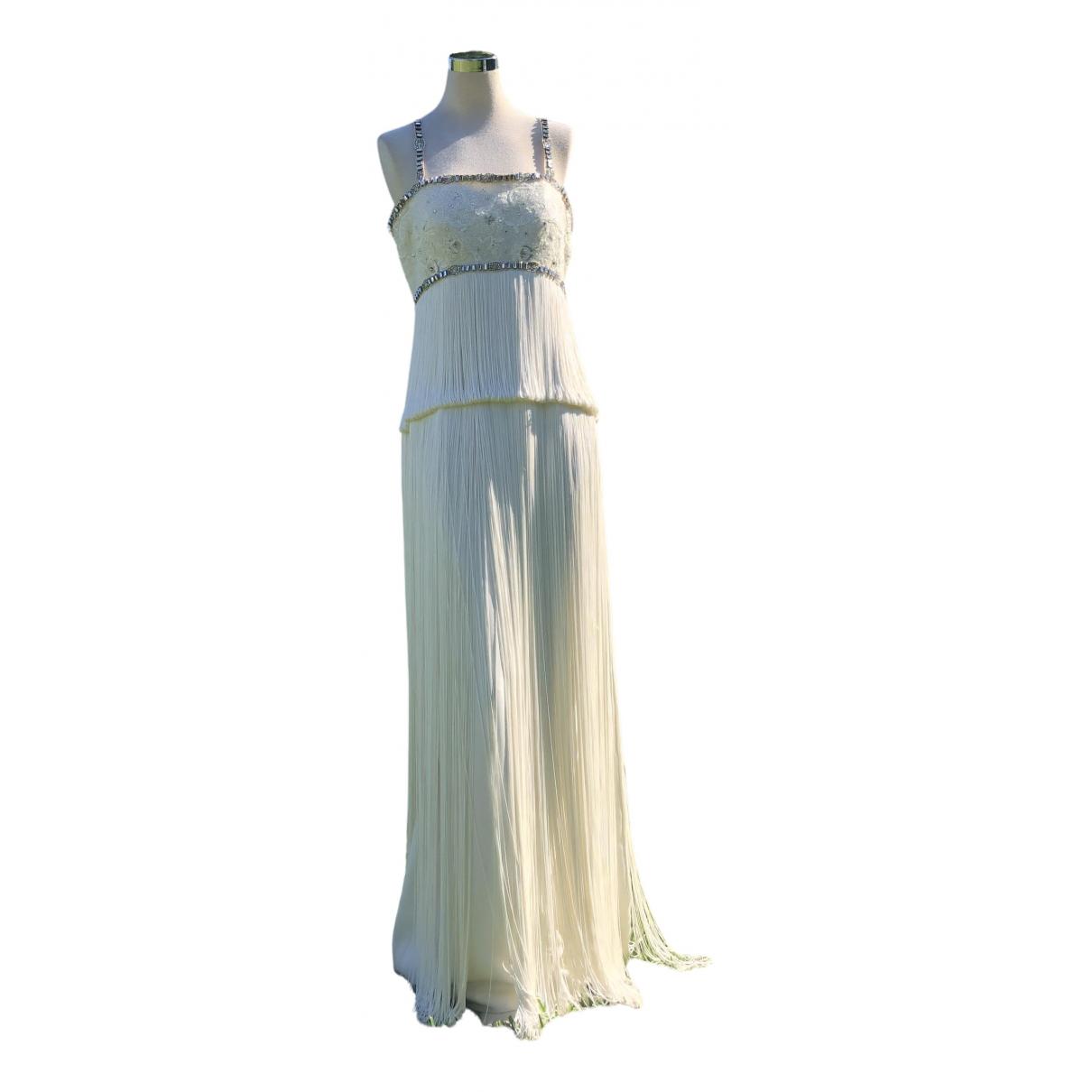 Rosa Clara - Robe   pour femme en soie - blanc