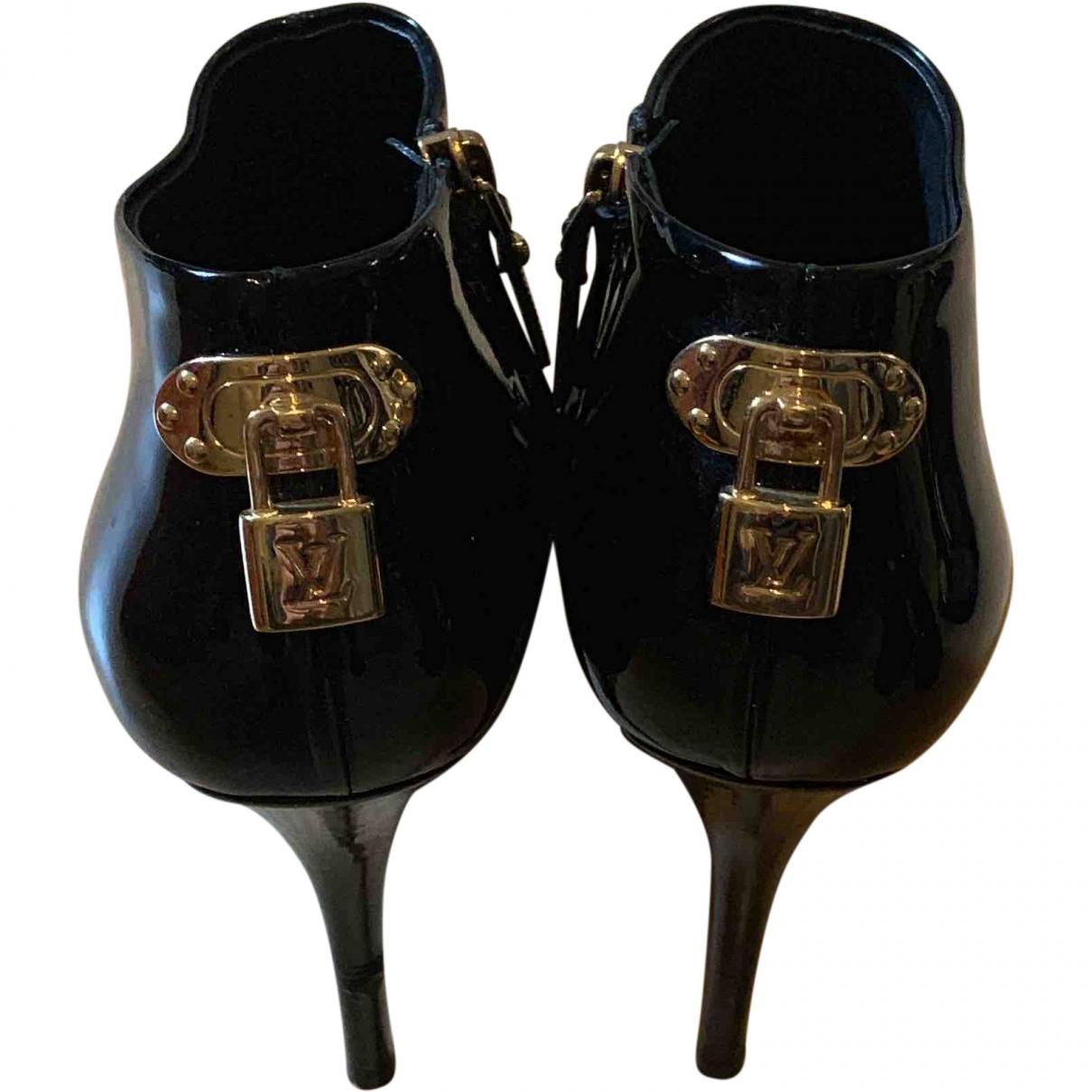 Botines de Charol Louis Vuitton