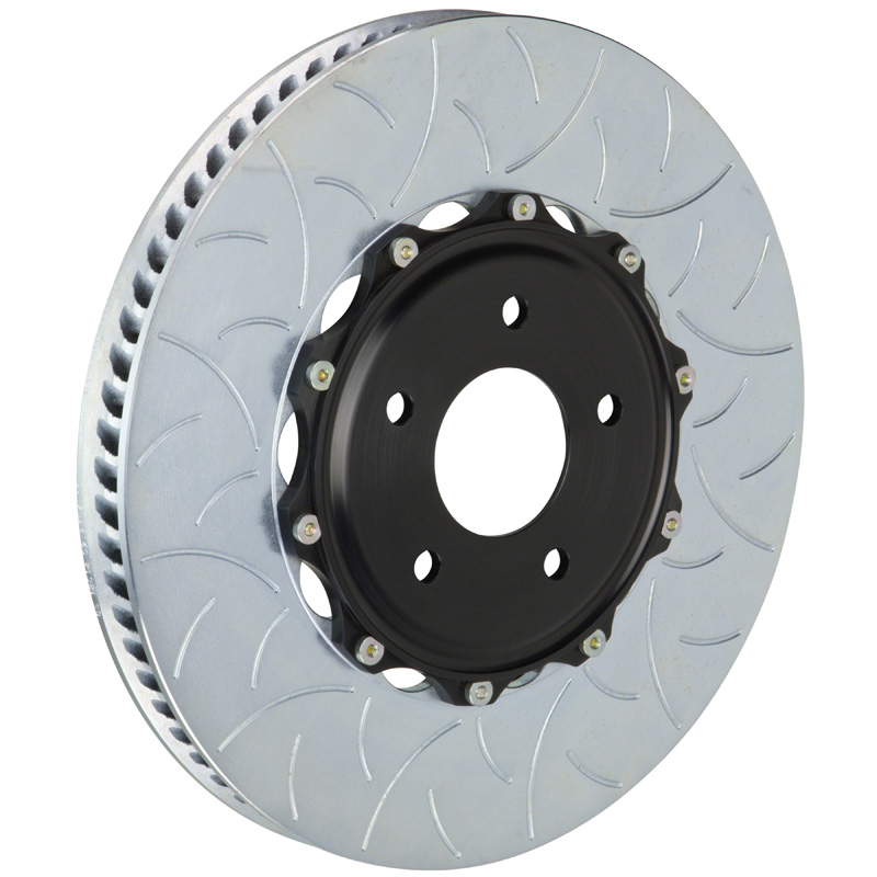 Brembo 350x34 2-Piece Slotted Rotors Type-3 Front Rotors