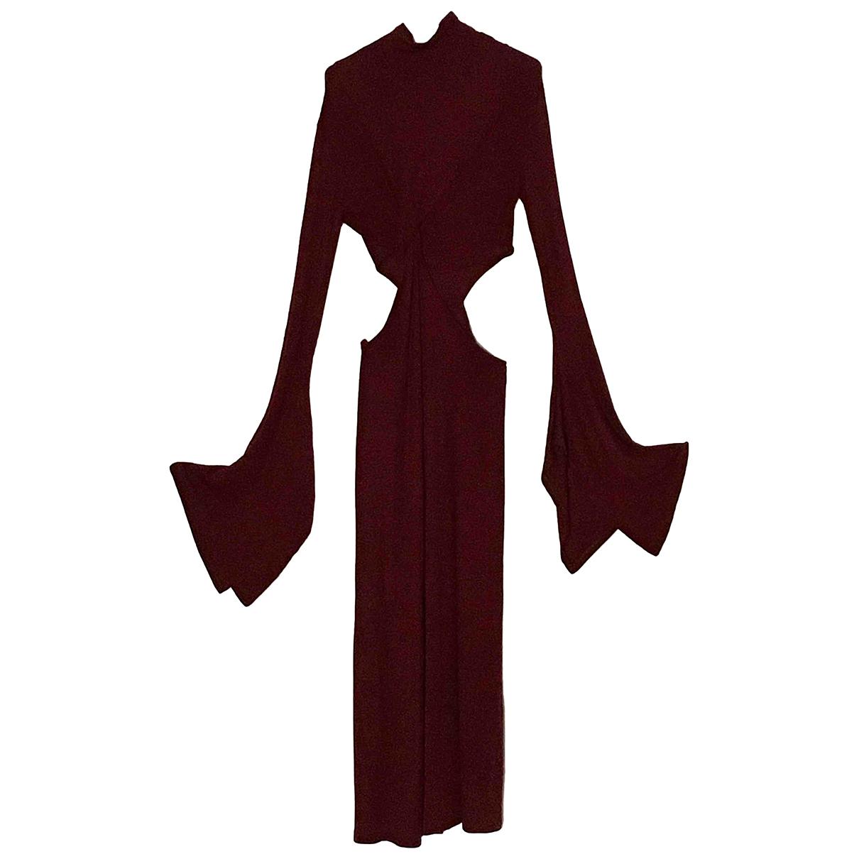 Sid Neigum N Burgundy dress for Women 8 US