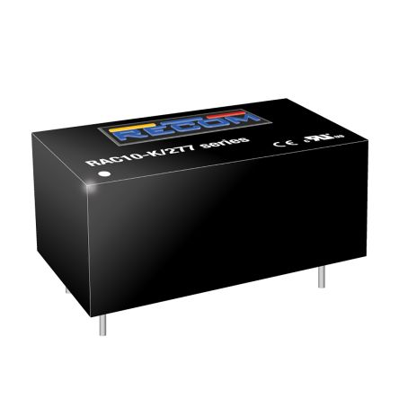 Recom , 10W Encapsulated Switch Mode Power Supply, ±15V dc, Encapsulated