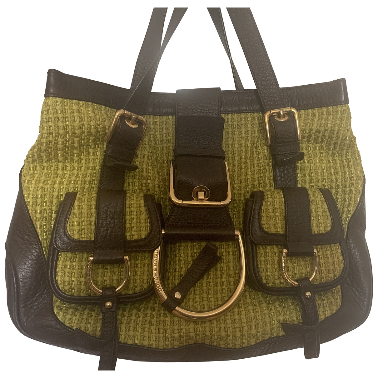 Dolce & Gabbana \N Handtasche in  Gruen Leder