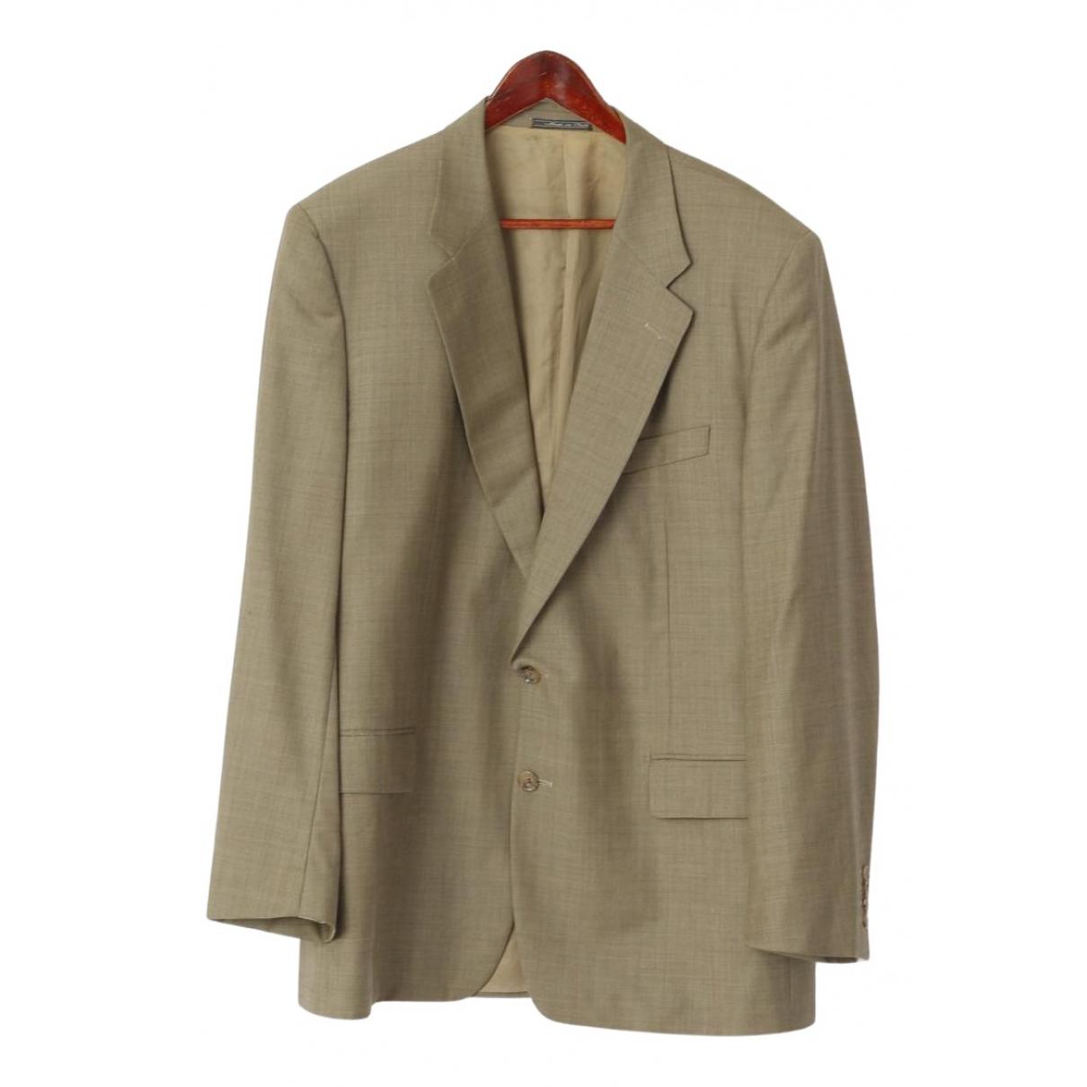 Corneliani - Vestes.Blousons   pour homme en laine - beige