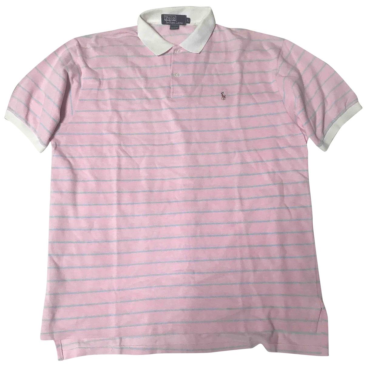 Polo Ralph Lauren - Polos Polo classique manches courtes pour homme en coton - rose