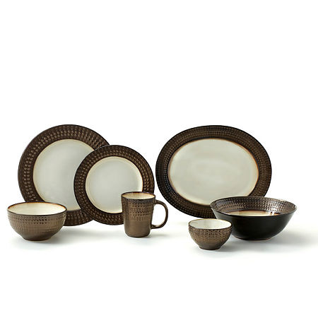 Gourmet Basics By Mikasa 16-pc. Dinnerware Set, One Size , Multiple Colors