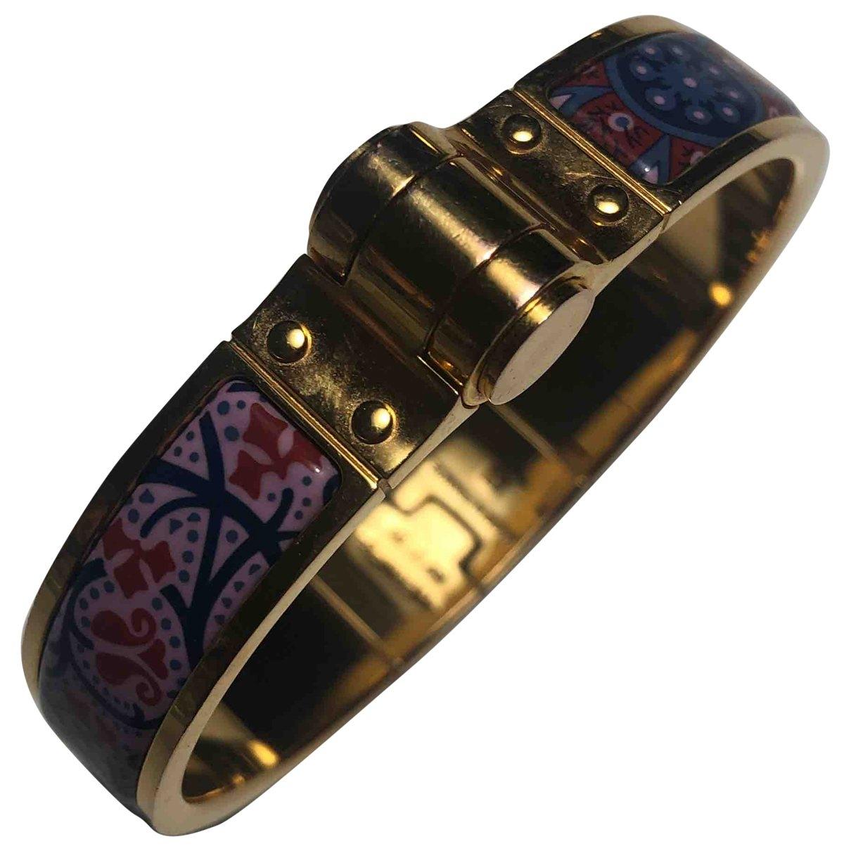 Hermès \N Purple Metal bracelet for Women \N