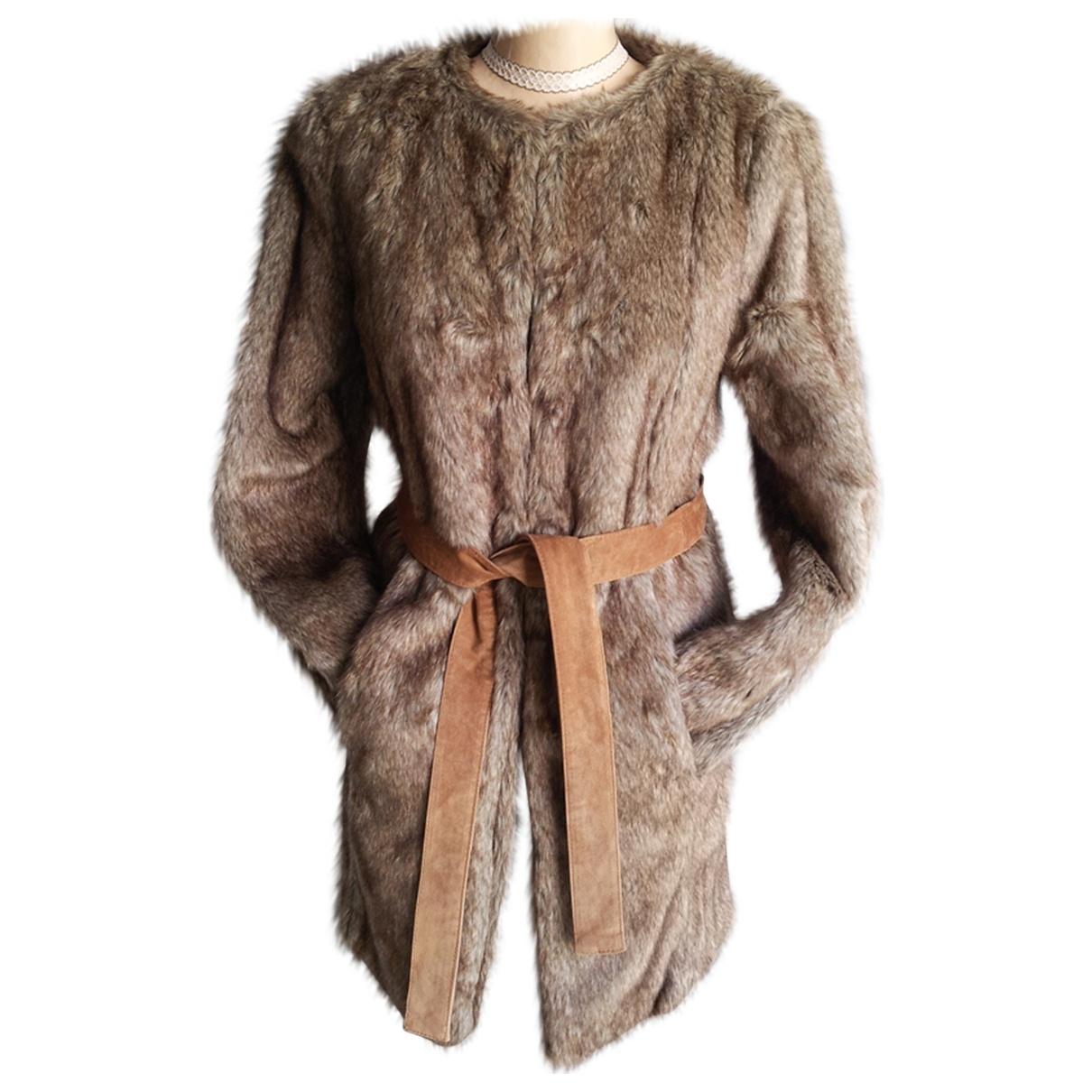Non Signé / Unsigned \N Multicolour Faux fur coat for Women 10 UK