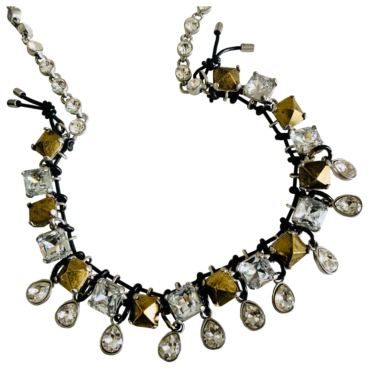 Marc By Marc Jacobs \N Metallic Crystal necklace for Women \N