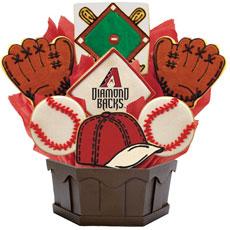 MLB Arizona Diamondbacks Cookie Bouquet