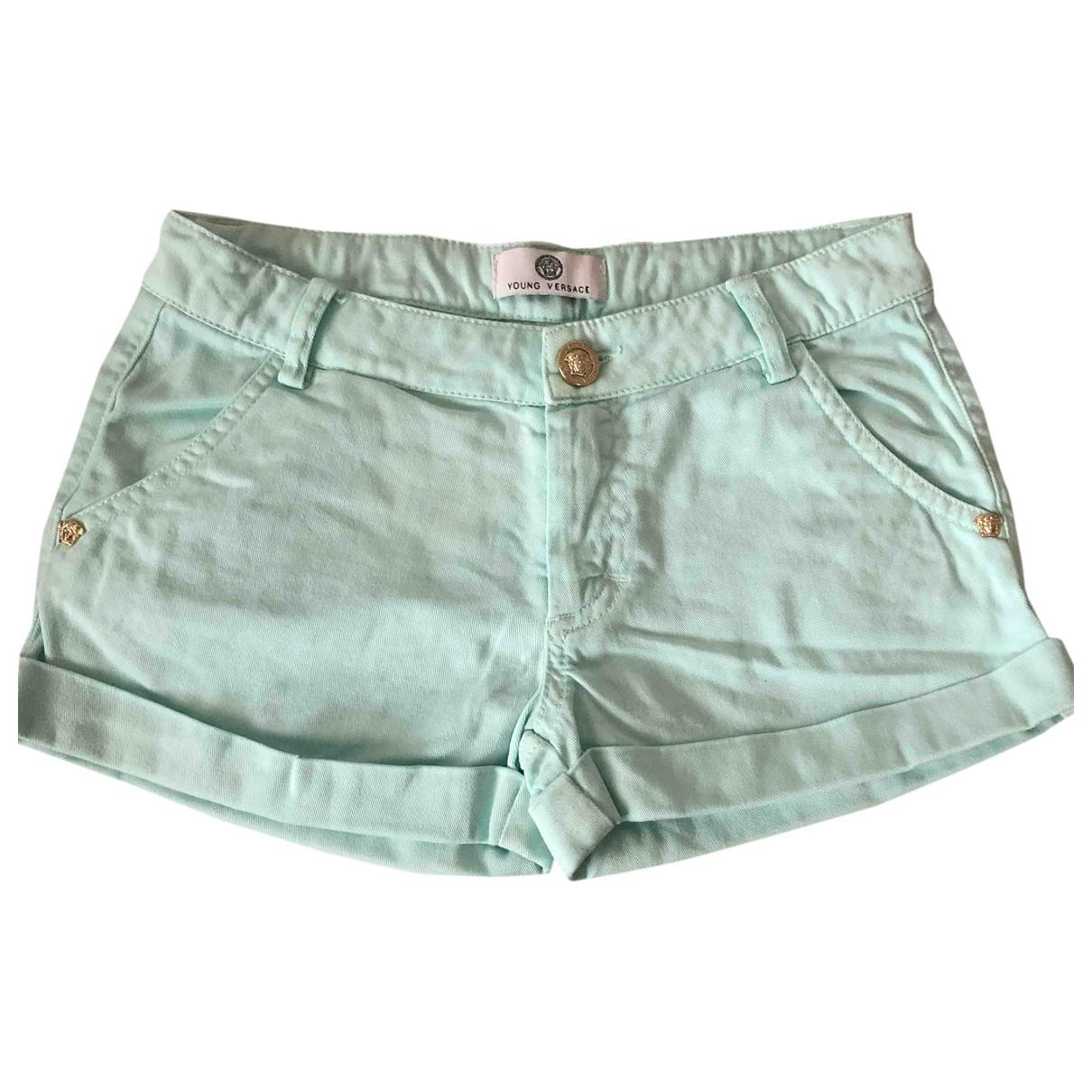 Versace \N Shorts in  Gruen Baumwolle