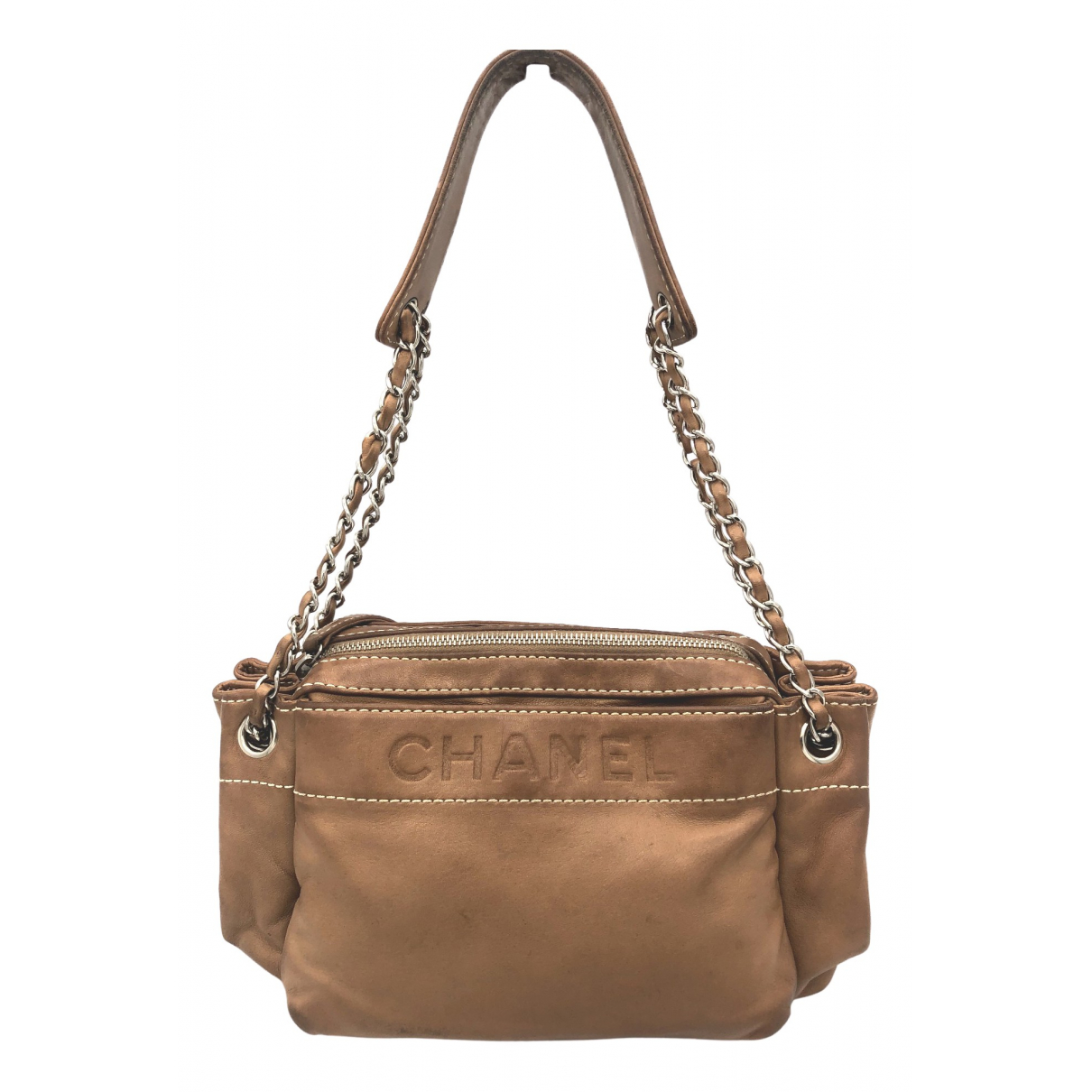 Chanel \N Camel Leather handbag for Women \N