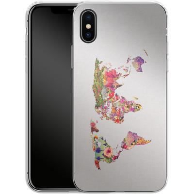 Apple iPhone X Silikon Handyhuelle - Its Your World von Bianca Green