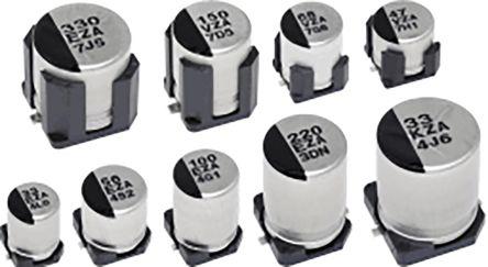 Panasonic 47μF Hybrid Capacitor 35V dc, Surface Mount - EEHZA1V470P (10)