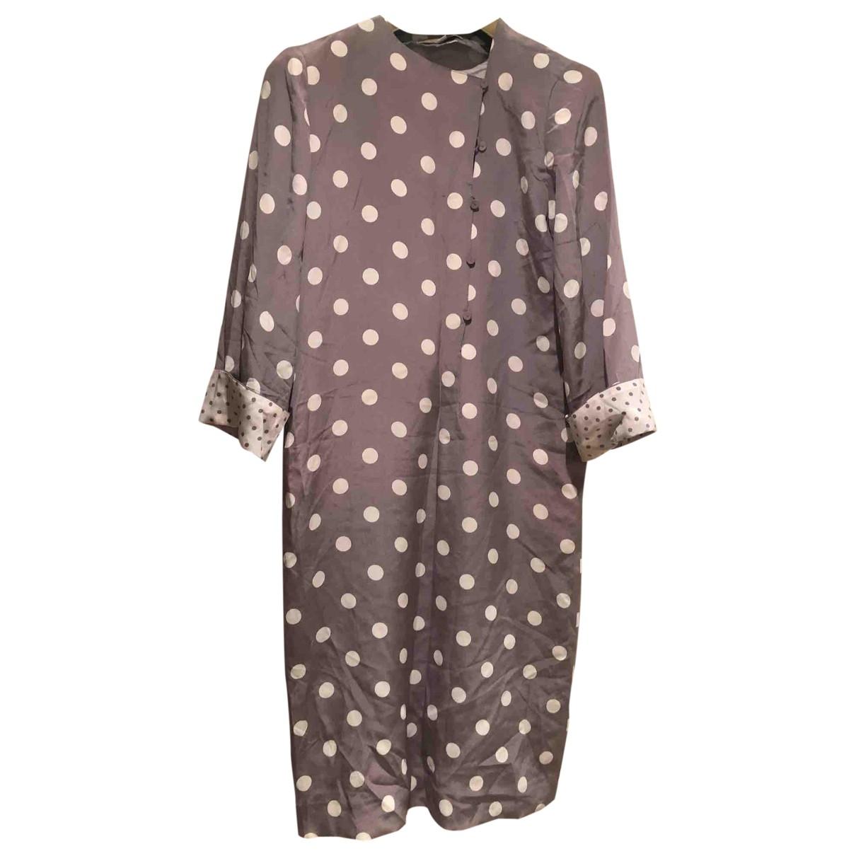 Hanae Mori - Robe   pour femme en soie