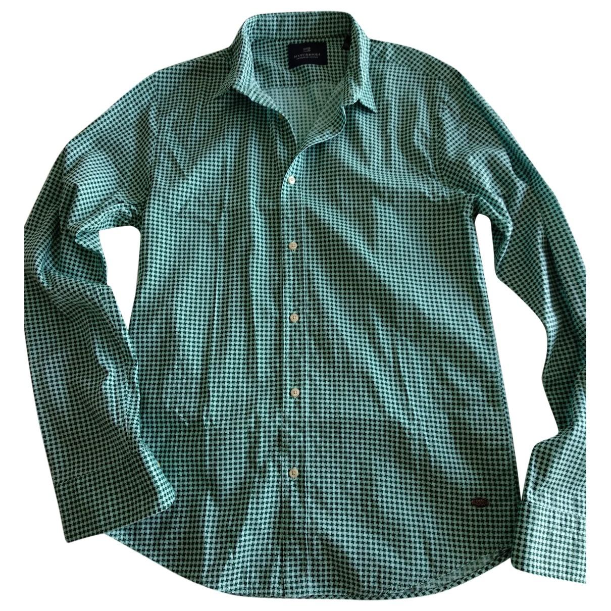 Scotch & Soda \N Hemden in  Gruen Baumwolle