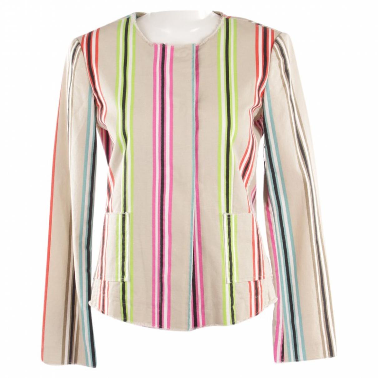 Blonde No.8 - Veste   pour femme en coton - multicolore