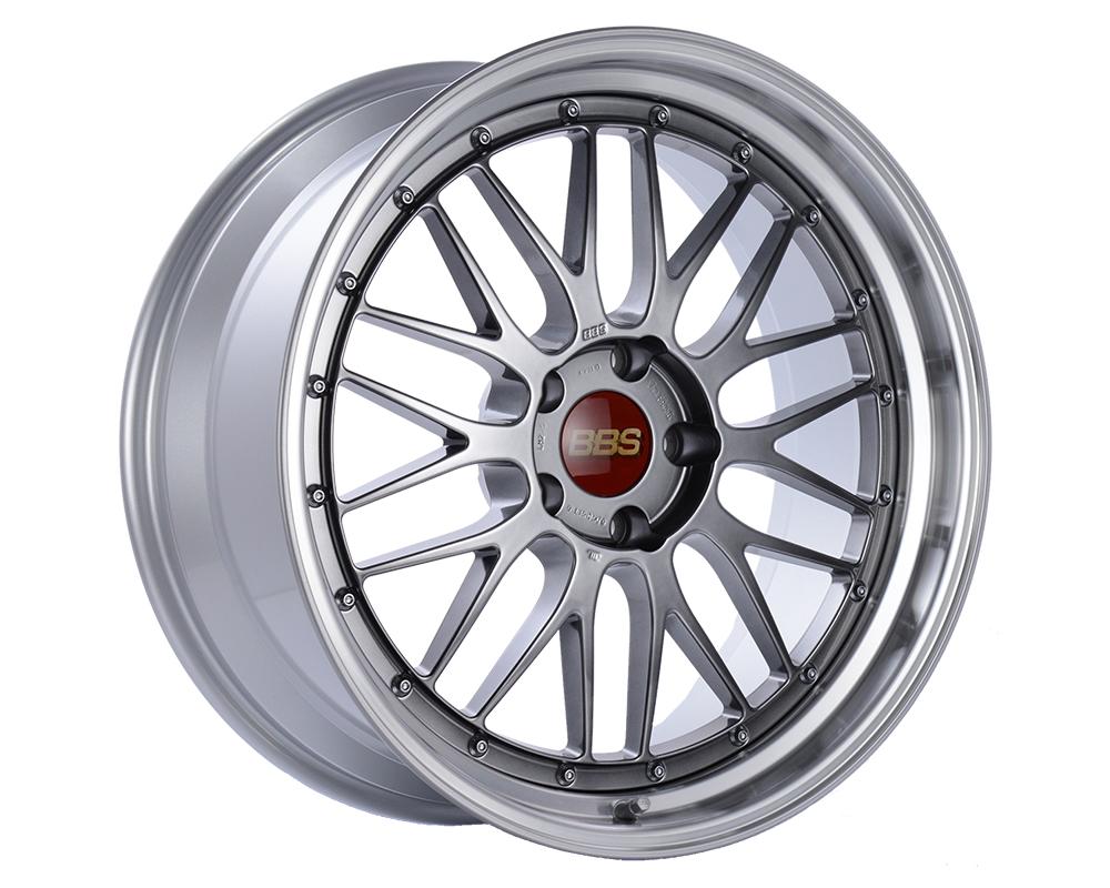 BBS LM Wheel 19x8.5 5x112 48mm Diamond Black | Diamond Cut Rim