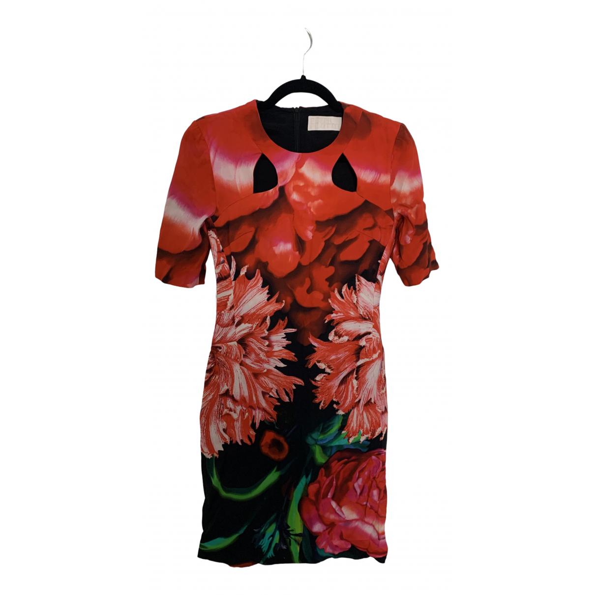 Peter Pilotto - Robe   pour femme en coton - rouge