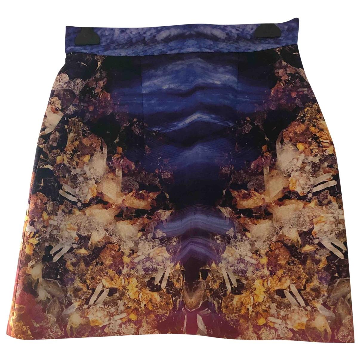 Mcq \N Multicolour Cotton skirt for Women 44 IT