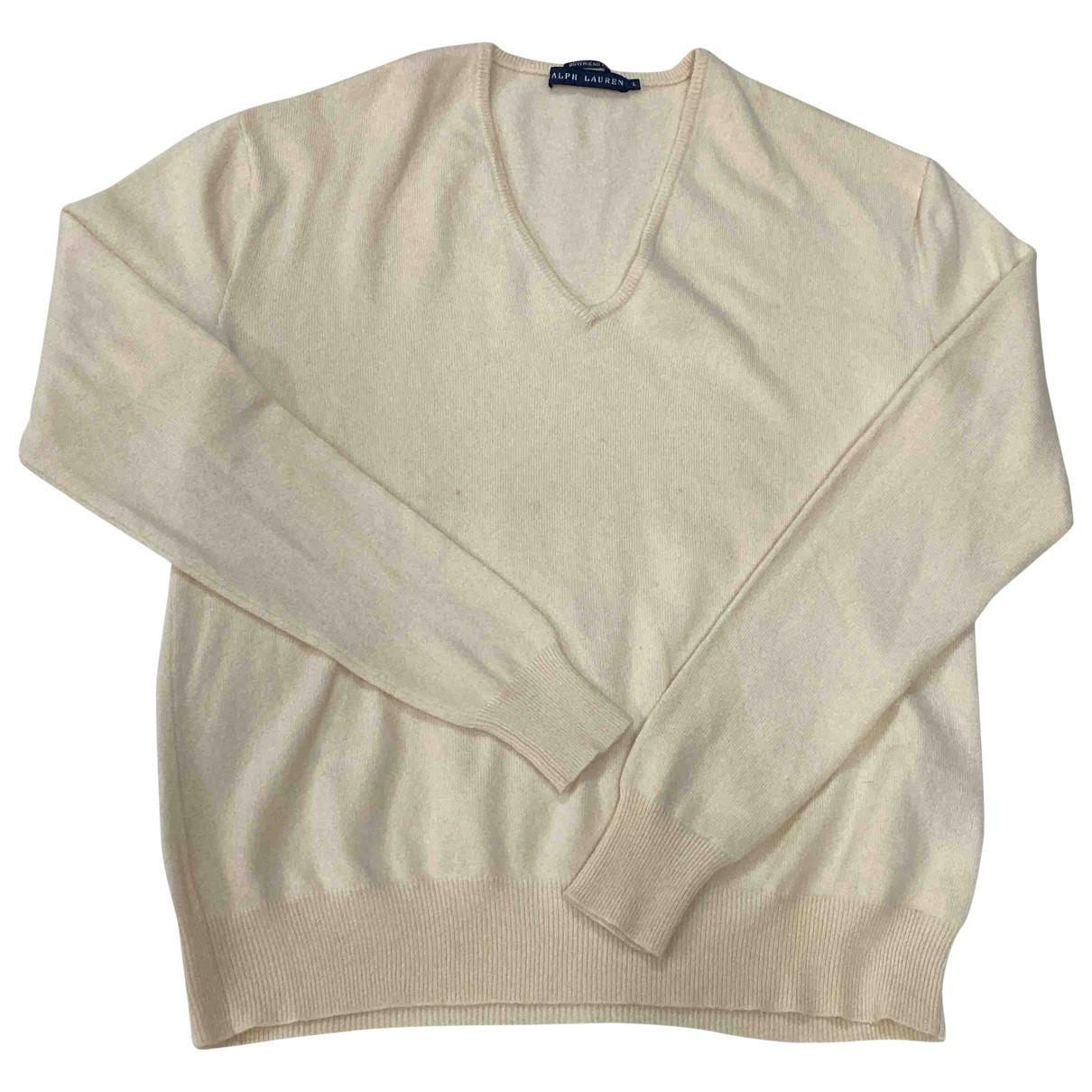 Ralph Lauren \N Beige Cashmere Knitwear for Women L International