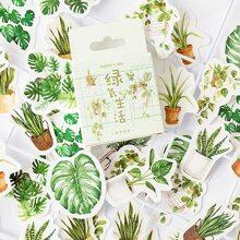45pcs Boxed Plant Pattern Sticker