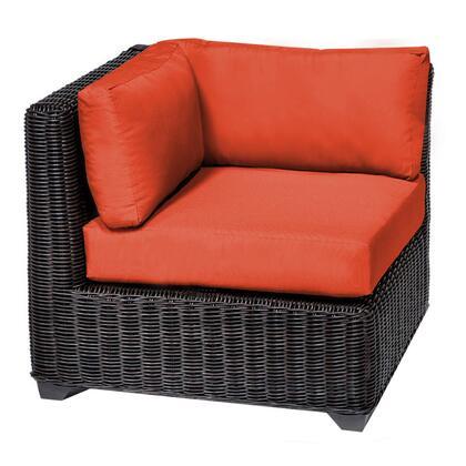TKC050b-CS-TANGERINE Venice Corner Sofa with 2 Covers: Wheat and