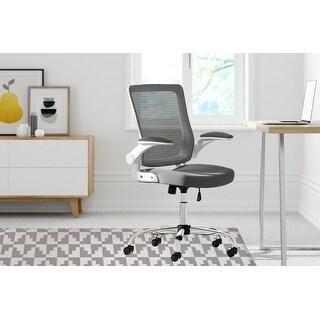 STAIRSTEP DIAMONDS Office Mat By Kavka Designs (Grey)
