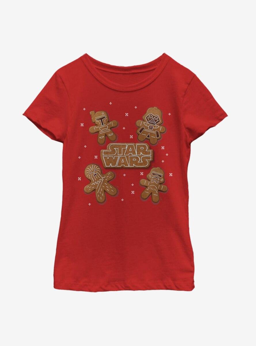 Star Wars Gingerbread Crew Youth Girls T-Shirt