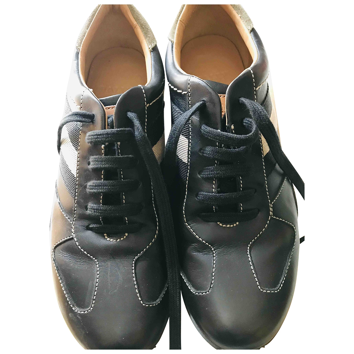 Bally \N Brown Leather Trainers for Women 37 EU