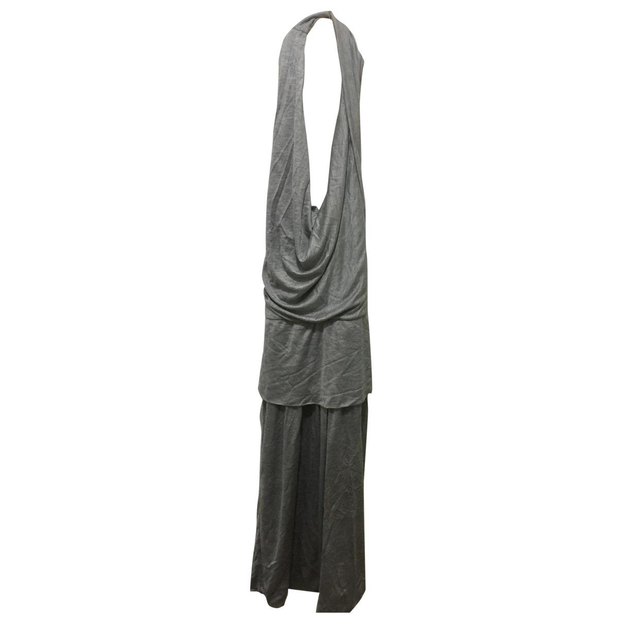 Max Mara \N Kleid in  Grau Viskose