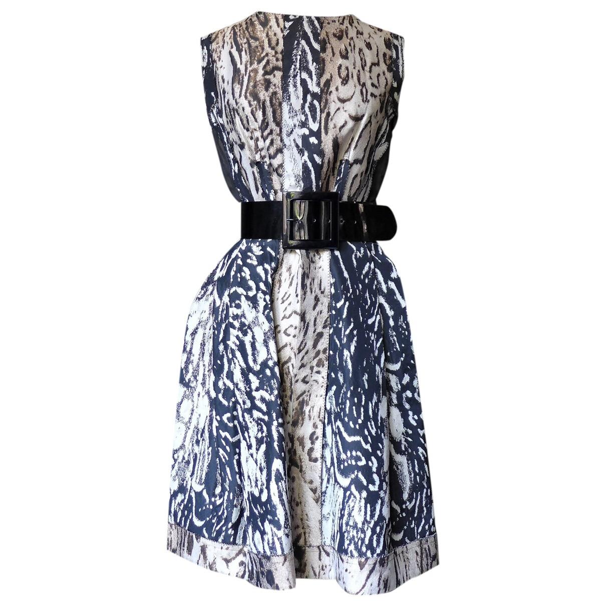 Lanvin - Robe   pour femme en soie - noir