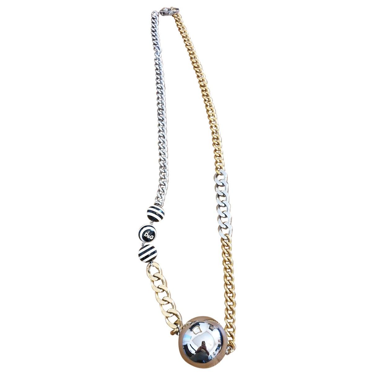 Dolce & Gabbana \N Kette in  Gold Stahl