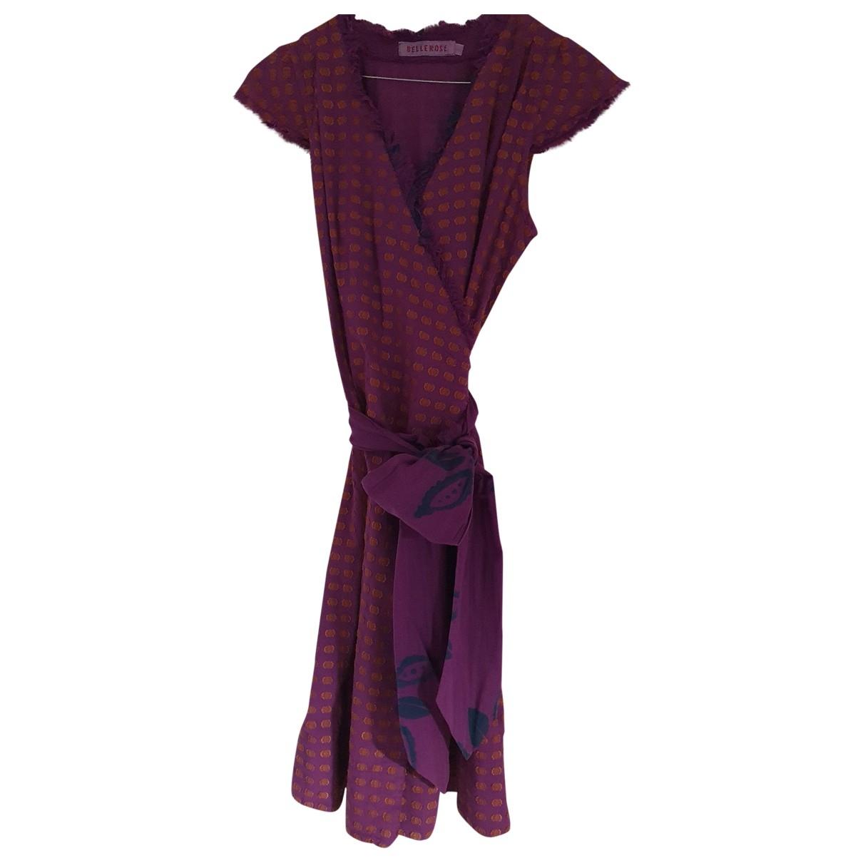 Bellerose \N Kleid in  Lila Baumwolle