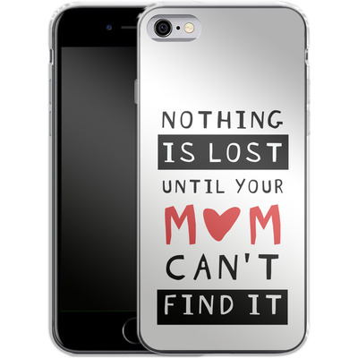Apple iPhone 6 Silikon Handyhuelle - Nothing is Lost von caseable Designs