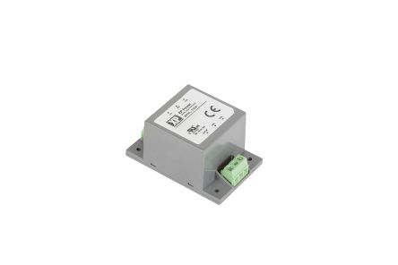 XP Power DTE06 6W DC-DC Converter Chassis Mount, Voltage in 18 → 75 V dc, Voltage out 5.1V dc