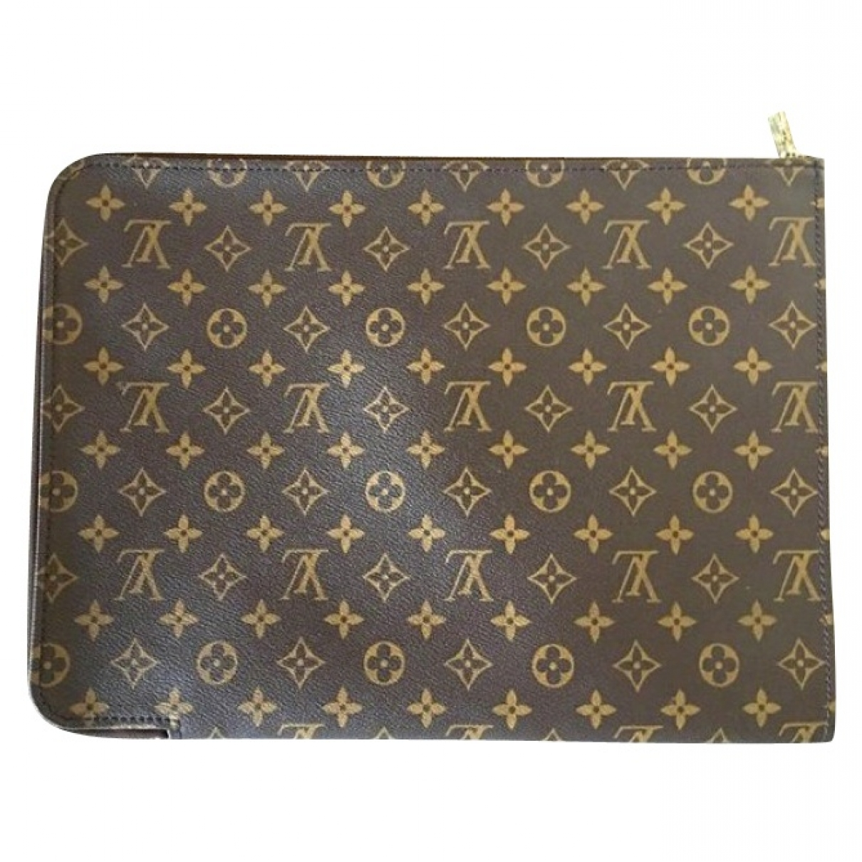 Louis Vuitton \N Brown Leather Accessories for Life & Living \N