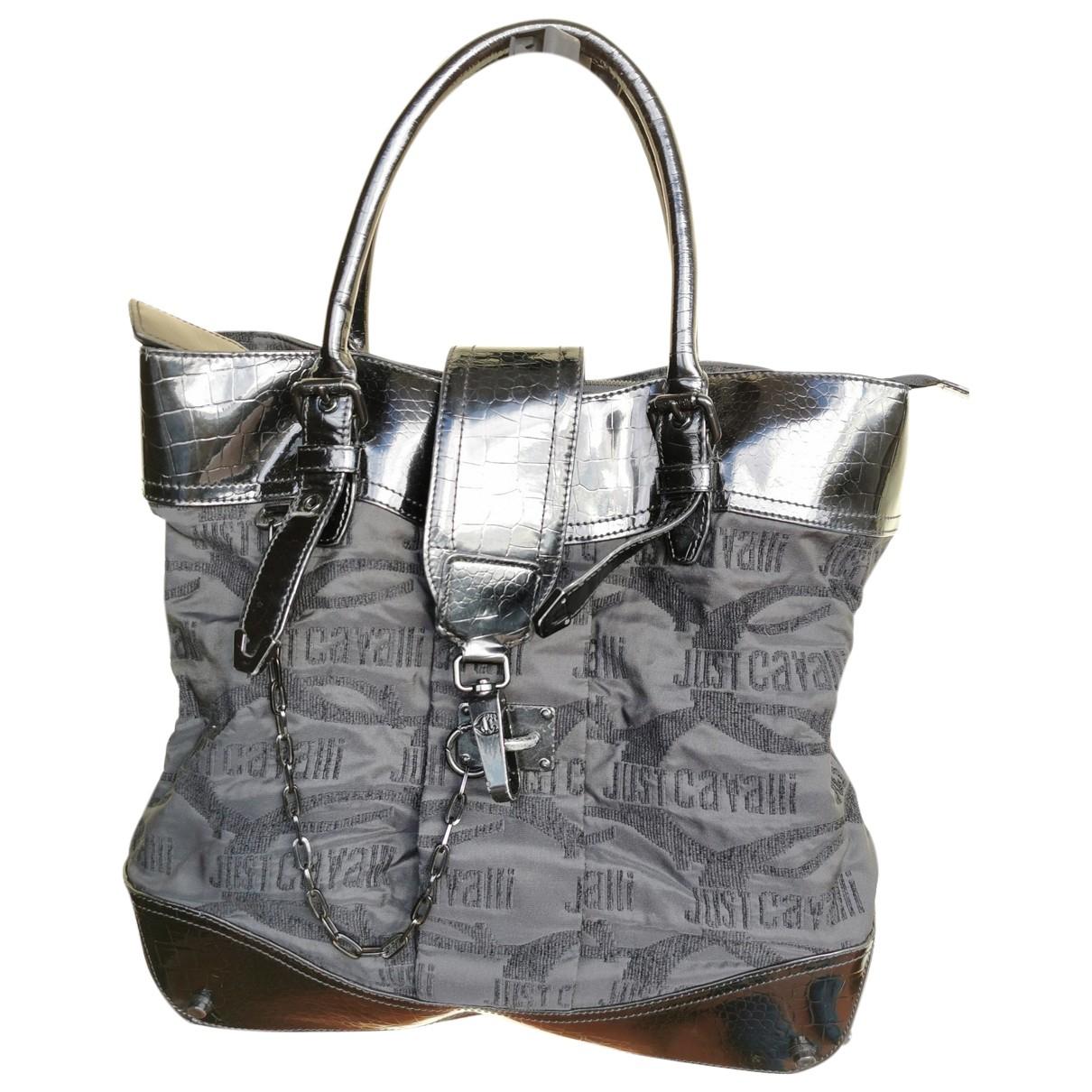Just Cavalli \N Handtasche in  Schwarz Baumwolle