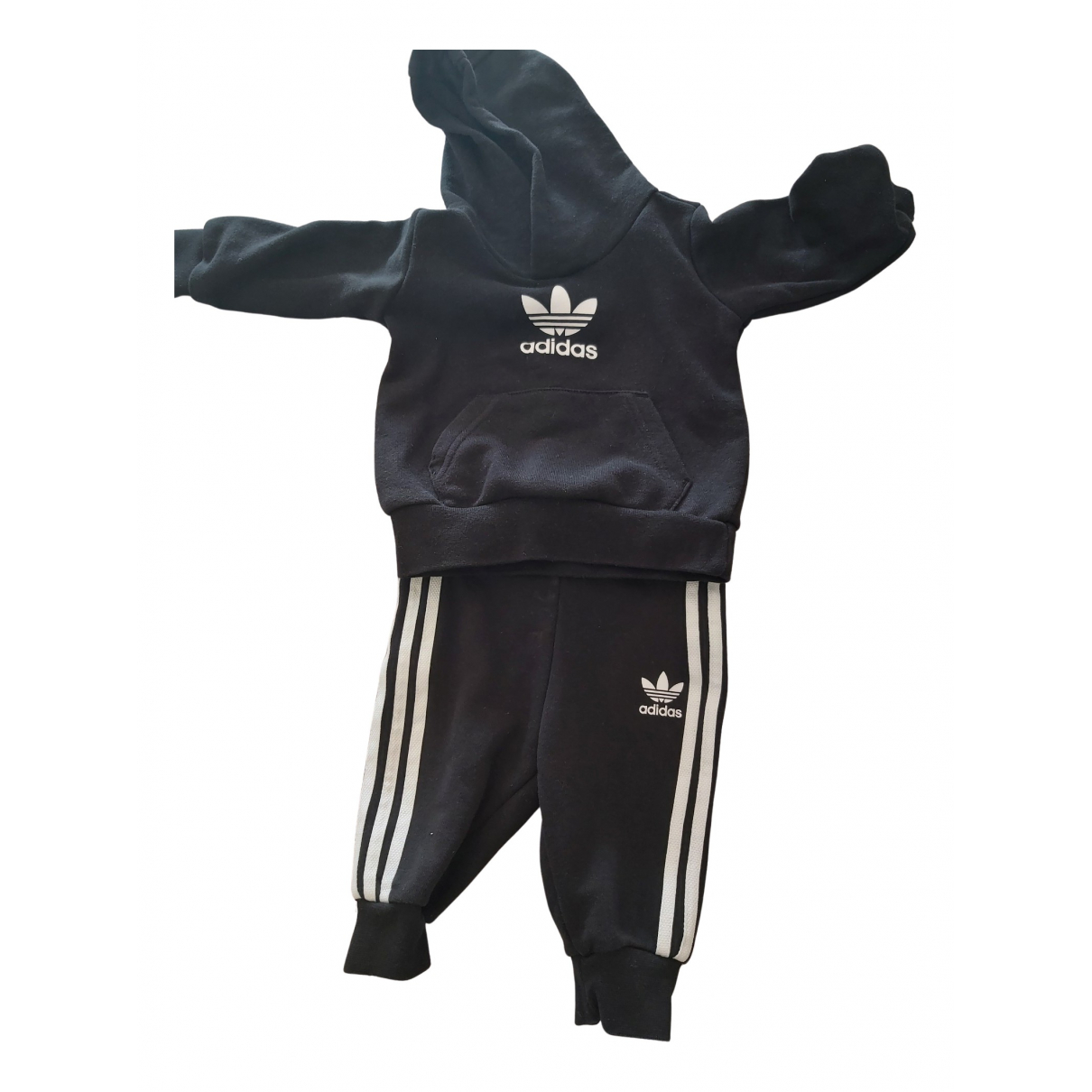 Adidas N Black Cotton Outfits for Kids 6 months - up to 67cm FR