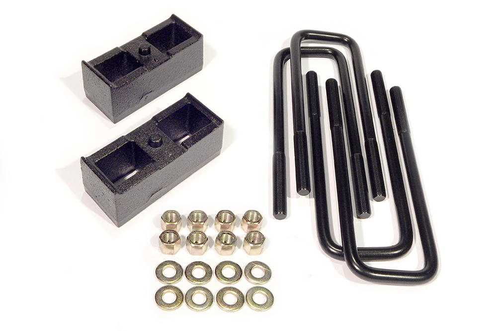 1 Inch Block Kit Rear 11-Present Chevy/GMC 2500HD 2WD/4WD 8-Lug w/Factory Trailer Pkg Southern Truck 15036